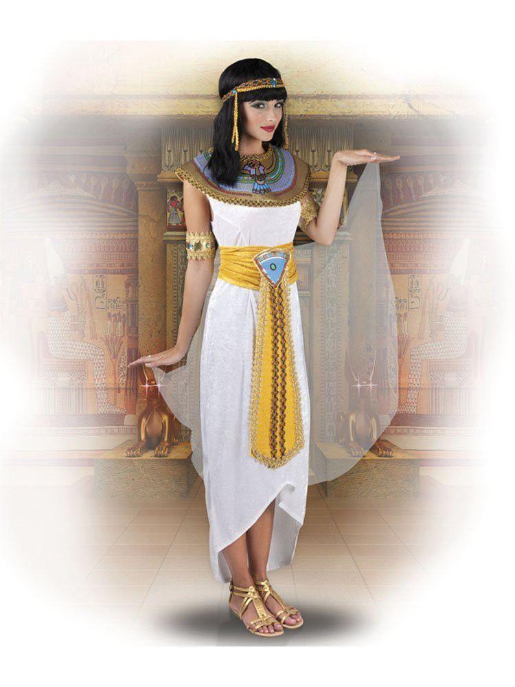 Kostüm: Cleopatra Anuket | Ägyptische mode, Kleopatra ...