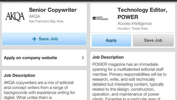 Use LinkedIn to apply for jobs from your phone Pinterest - photo editor job description