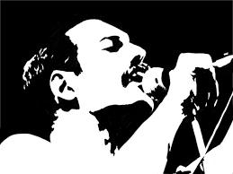 Pohozhee Izobrazhenie Black And White Art Drawing Queen Art Freddie Mercury