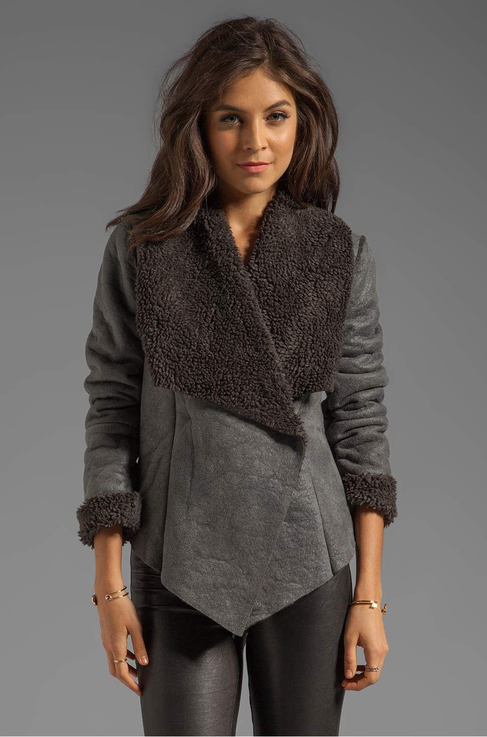 Vestido con chaqueta de punto