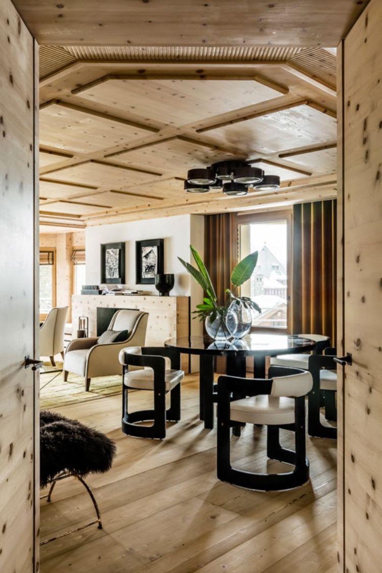 So stylish sind die privaten Wohnräume im Kulm Hotel