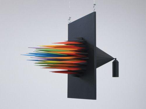 Spray Can installation art by Julian Vallee