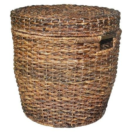 Contain Clutter With These Baskets From Target Wicker Lidded