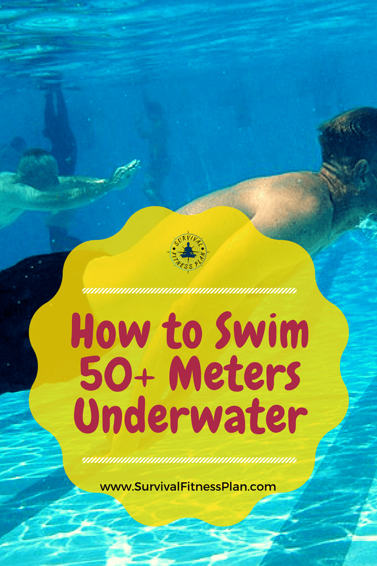 How to do a 50m Underwater Swim Underwater Swimming