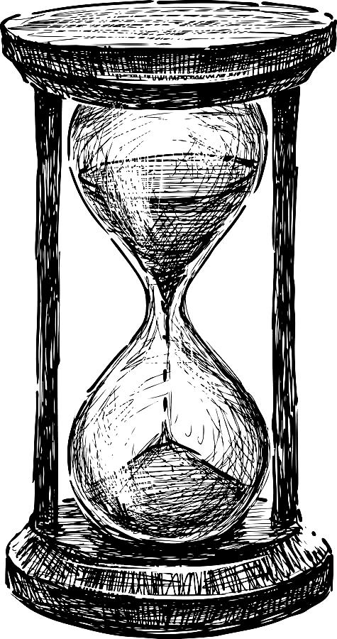 Pin By Annie Rotterova On S K E T C H E S Hourglass Tattoo Clock Drawings Hourglass Drawing