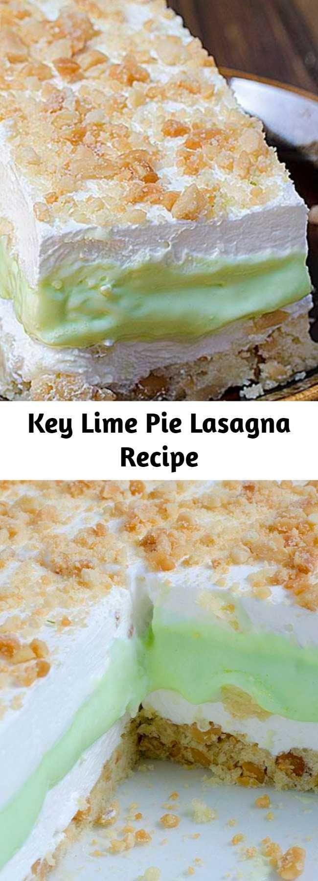 Key Lime Pie Lasagna Recipe