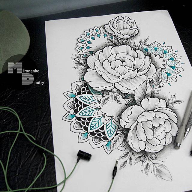 Tattoosketch Dotwork Mandala Ornamentaltattoo Ornamental
