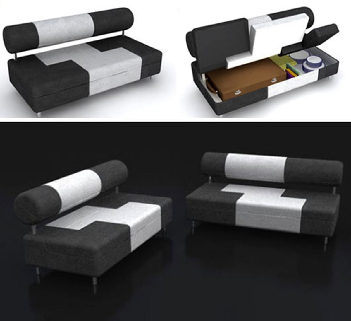 Furniture Compact Sofa Design Sofa With Storage Design For Small
