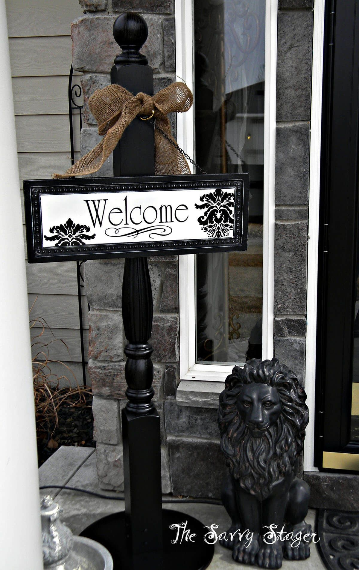 24 schöne Veranda Welcome Post Ideen die Ihre Gäste fühlen lassen begrüßt 24 schöne Veranda Welcome Post Ideen die Ihre Gäste füh...