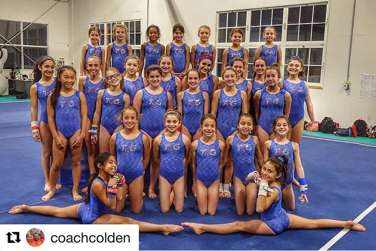 TFW the new team leos are in! TKG Girls team loving our