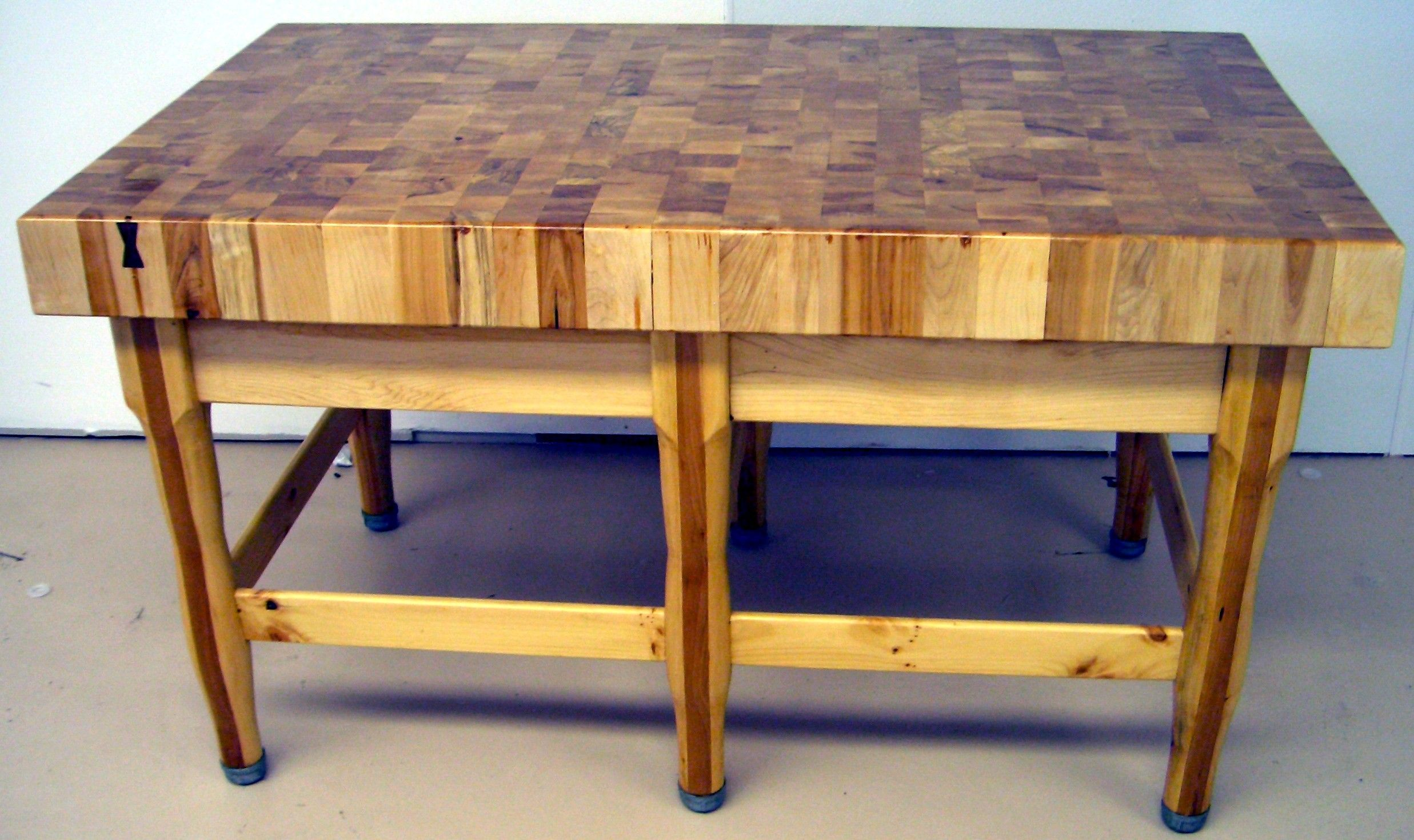 Furniture For Butcher Blocks Free Standing And Countertop Artsyhome