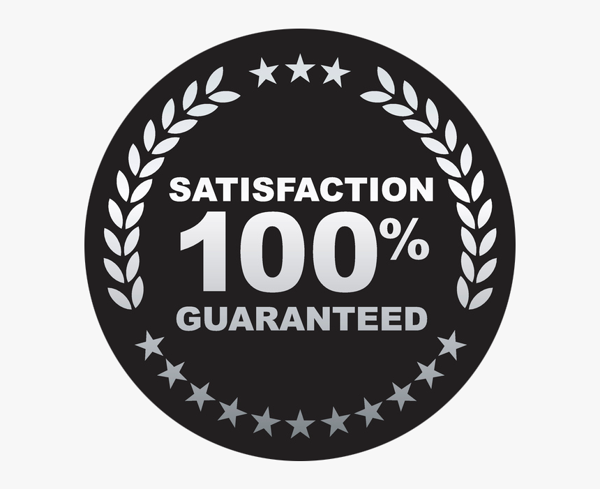 Satisfaction Guaranteed Badge 100 Satisfaction Guarantee Icon Hd Png Download Is Free Transparent Png Image To Explore More Similar H In 2021 Png Images Icon Badge