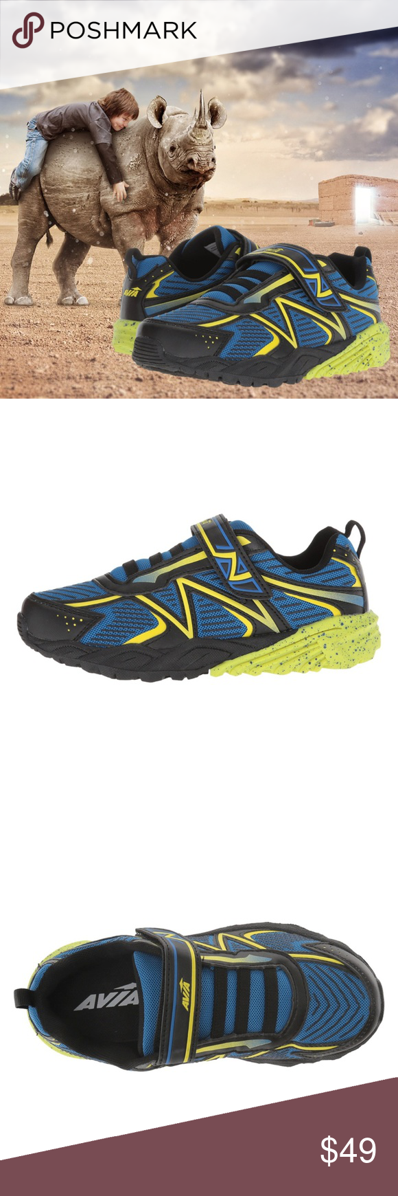 Avia Kids Avi-Force Running Shoe
