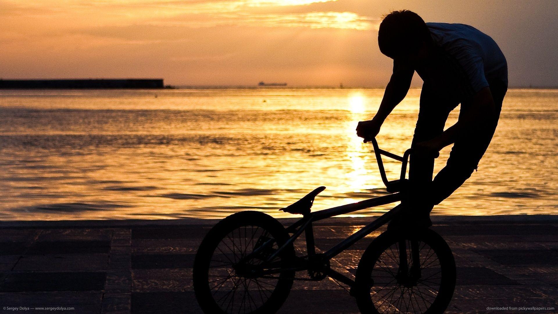 Bmx Wallpaper Sunset Bmx Bmx Freestyle Bike Frame