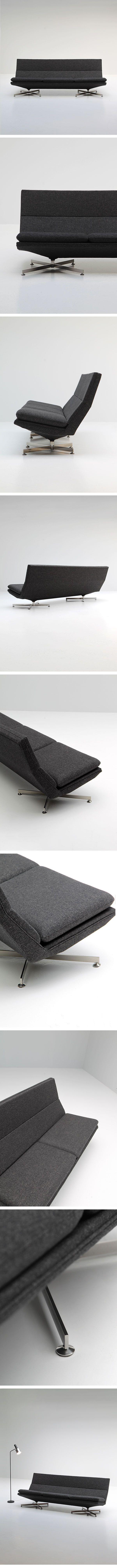 Georges Van Rijck, Beaufort, sofa, 1960s