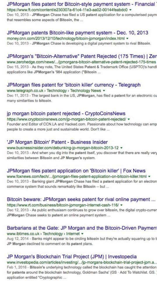 Get Litecoin Jp Morgan Cryptocurrency Patent