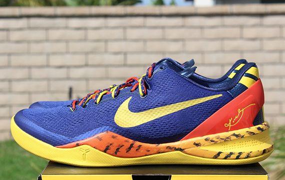 best website a6dea c8983 Nike Kobe 8 – Deep Royal Blue – Team Orange – Tour Yellow