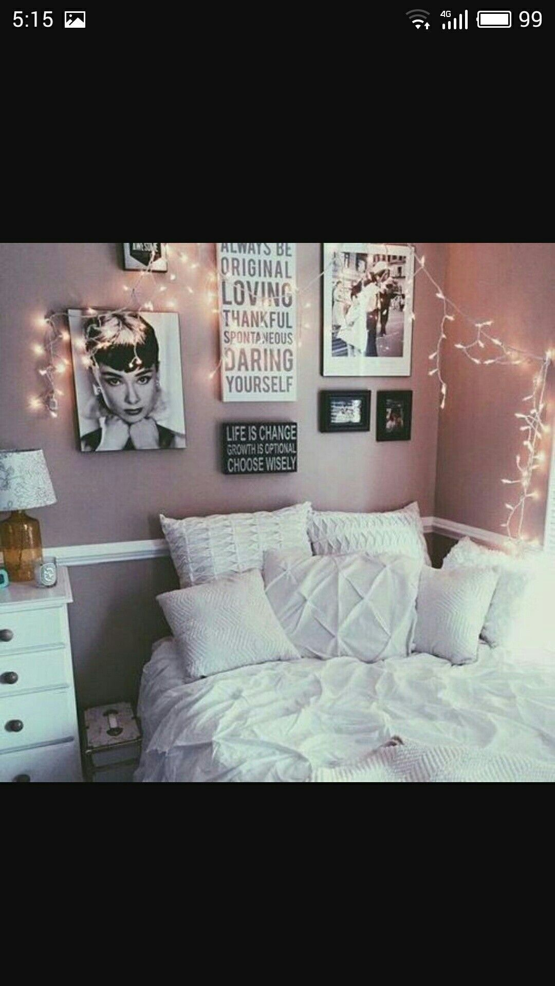 Teenage Girl Room Ideas The Art Of Decorating Bedroom With Lights
