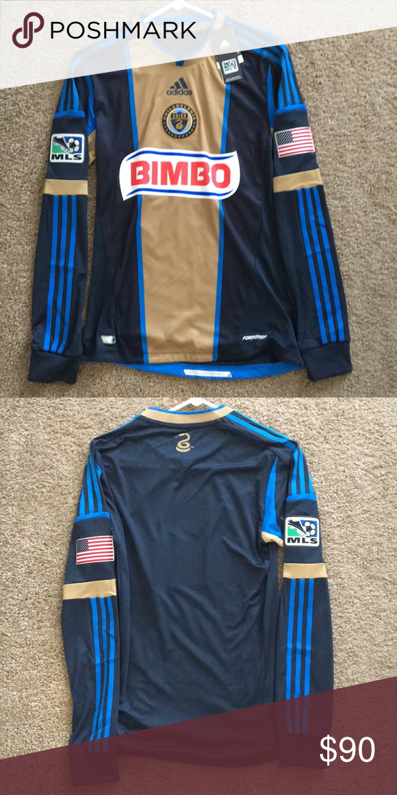 separation shoes 477e2 270a0 Philadelphia Union Jersey Adidas Climacool MLS Jersey size S ...