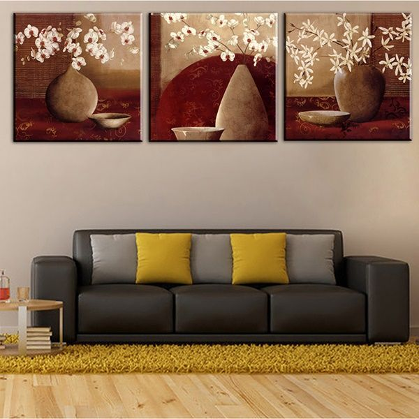 Wall Hanging Lesson Plan: 25 Easy Wall Art Three Piece Painting Ideas