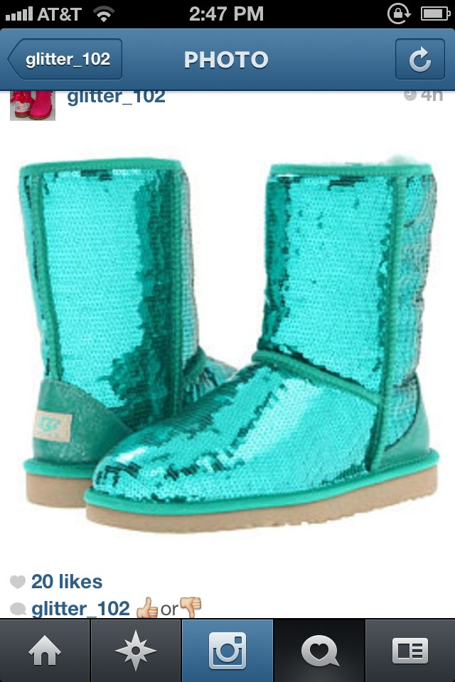 b4fa063a43c Blue sparkle uggs!!!! | Stuff I want<3 | Uggs, Ugg boots, Ugg boots sale