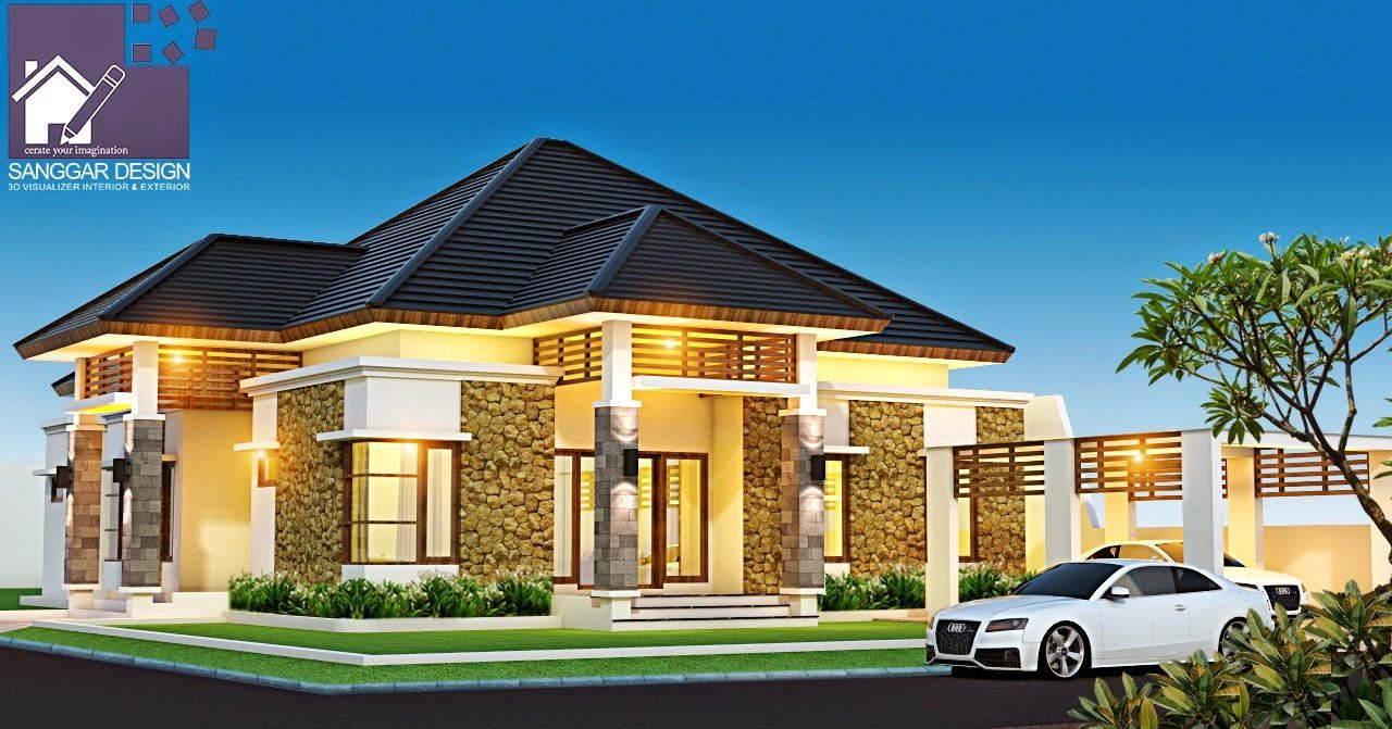Desain Rumah Mewah Lantai 1 | Rumah mewah, Desain rumah ...