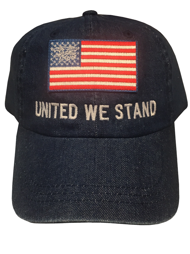 Trident American Flag United We Stand Hat Navy Seals