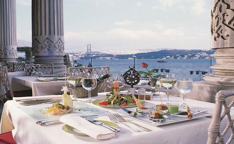Tuğra Restaurant At The Çırağan Palace Istanbul