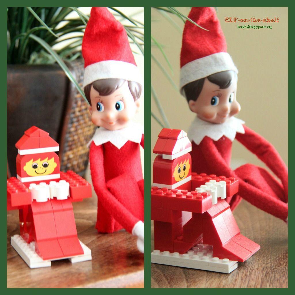 Elf on the shelf lego elf elf on the shelf pinterest elves