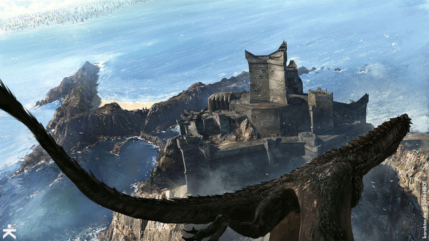 Artstation Got 7 Dragonstone Karakter Design Studio Game Of Thrones Artwork Game Of Thrones Art Game Of Thrones Dragons