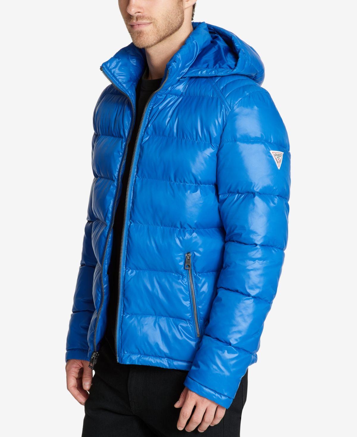 Guess Men S Hooded Puffer Coat Reviews Coats Jackets Men Macy S In 2021 Puffer Coat Guess Men Mens Hooded [ 1466 x 1200 Pixel ]