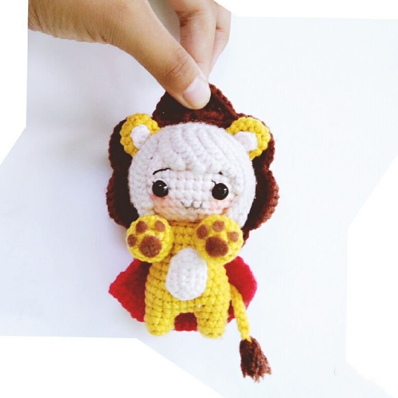 Lion cute amigurumi pattern | 1 dolls amugurumi patterns | Pinterest ...