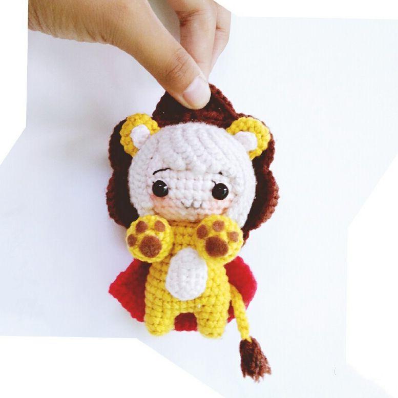 Lion cute amigurumi pattern | amigurumis | Pinterest | Muñecas ...