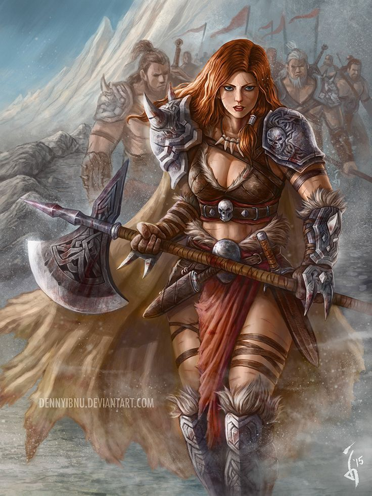 Pin by griff lancer on antiquity primordial fantasy in - Fantasy female warrior artwork ...