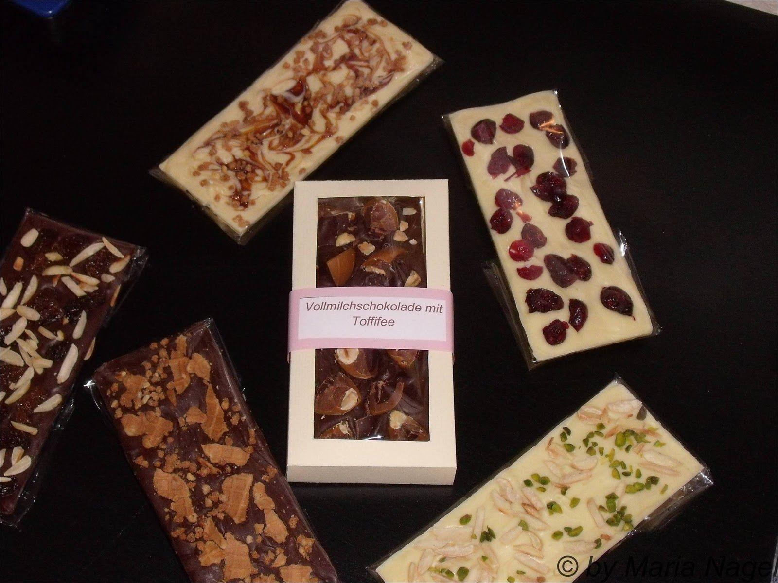 Ich bin dann mal kurz in der Küche: Schokoladentafeln selbst gemacht ...
