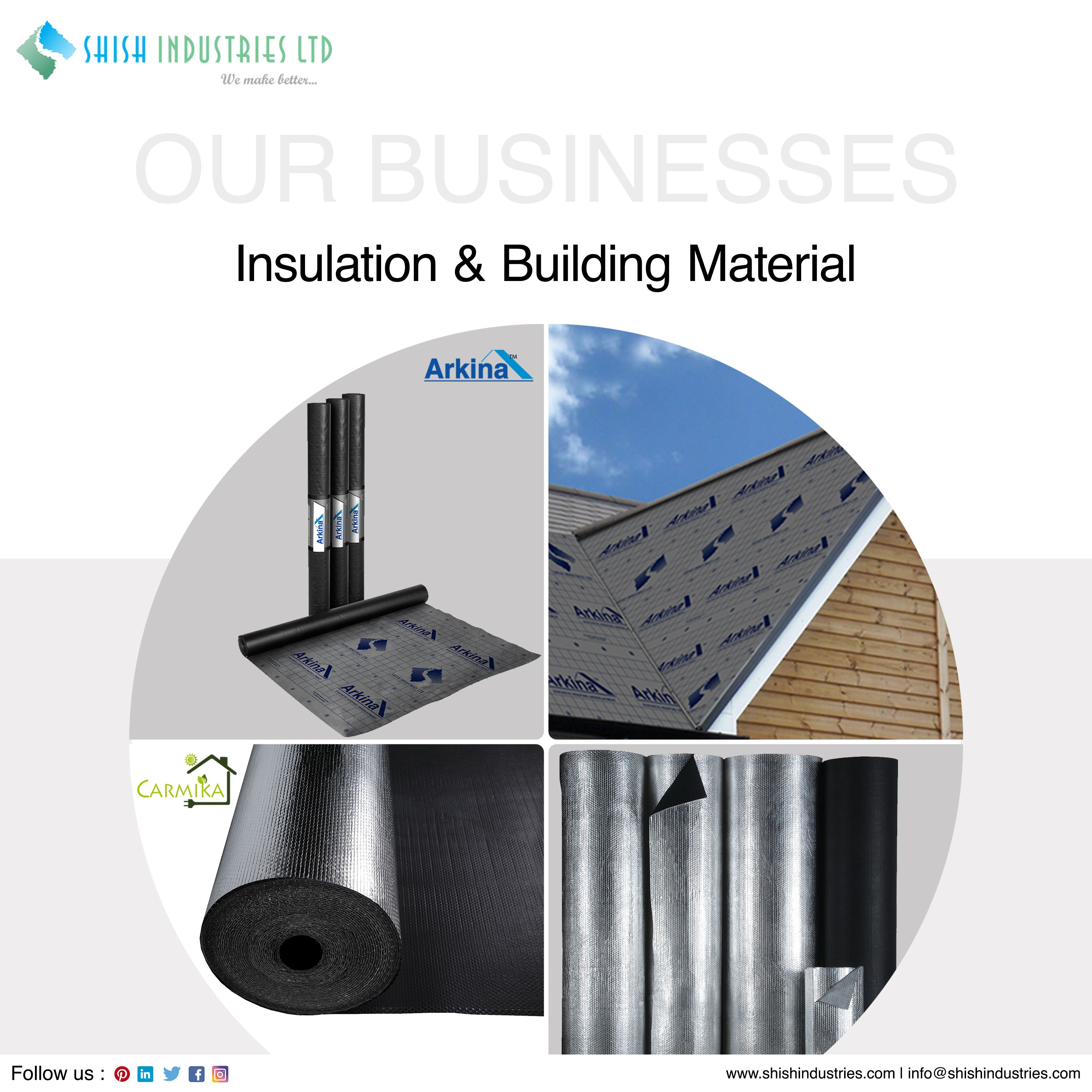 Arkina Arkina Synthetic Roof Underlayment Offers Effective Secondary Protection For Roofs Insulation Materials Corrugated Plastic Corrugated Plastic Sheets