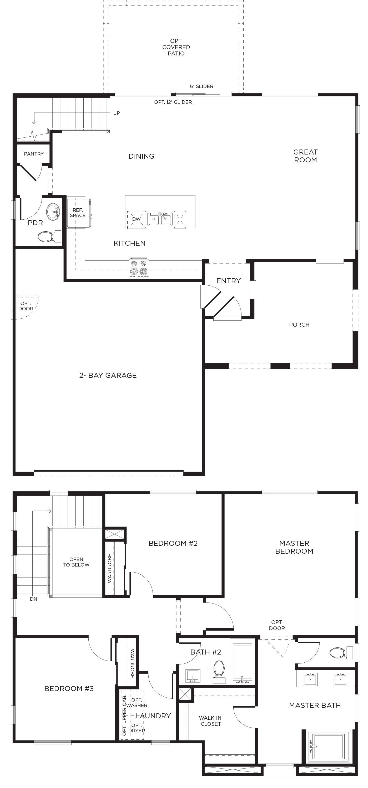 Real Estate In Beaumont Ca Elara Neighborhood Sundance Community Pardee Homes Floor Plans Garage Bedroom