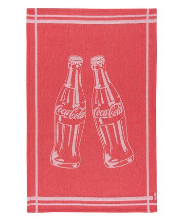 Another Great Find On #zulily! Coca Cola Bottle Rocket Jacquard Dish Towel  By