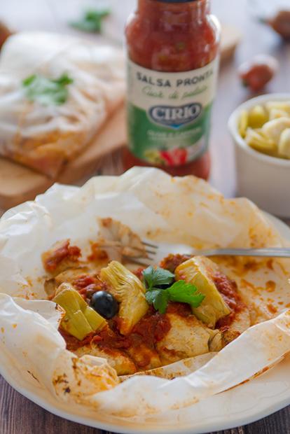 Ricetta Filetti Di Gallinella Al Cartoccio Cirio Cucinare Il
