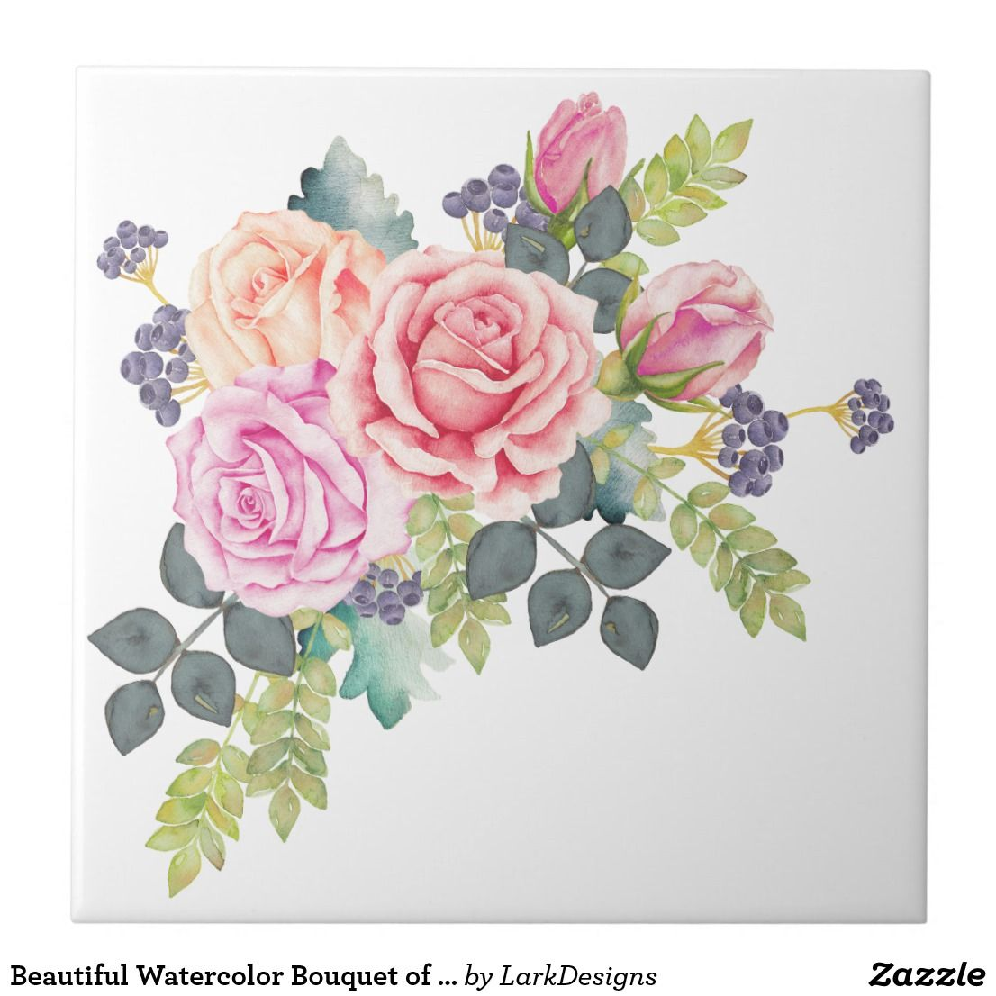Pin By Gul Vddries On Home Decor Patio Garden No Sections Flower Illustration Floral Painting Watercolor Rose