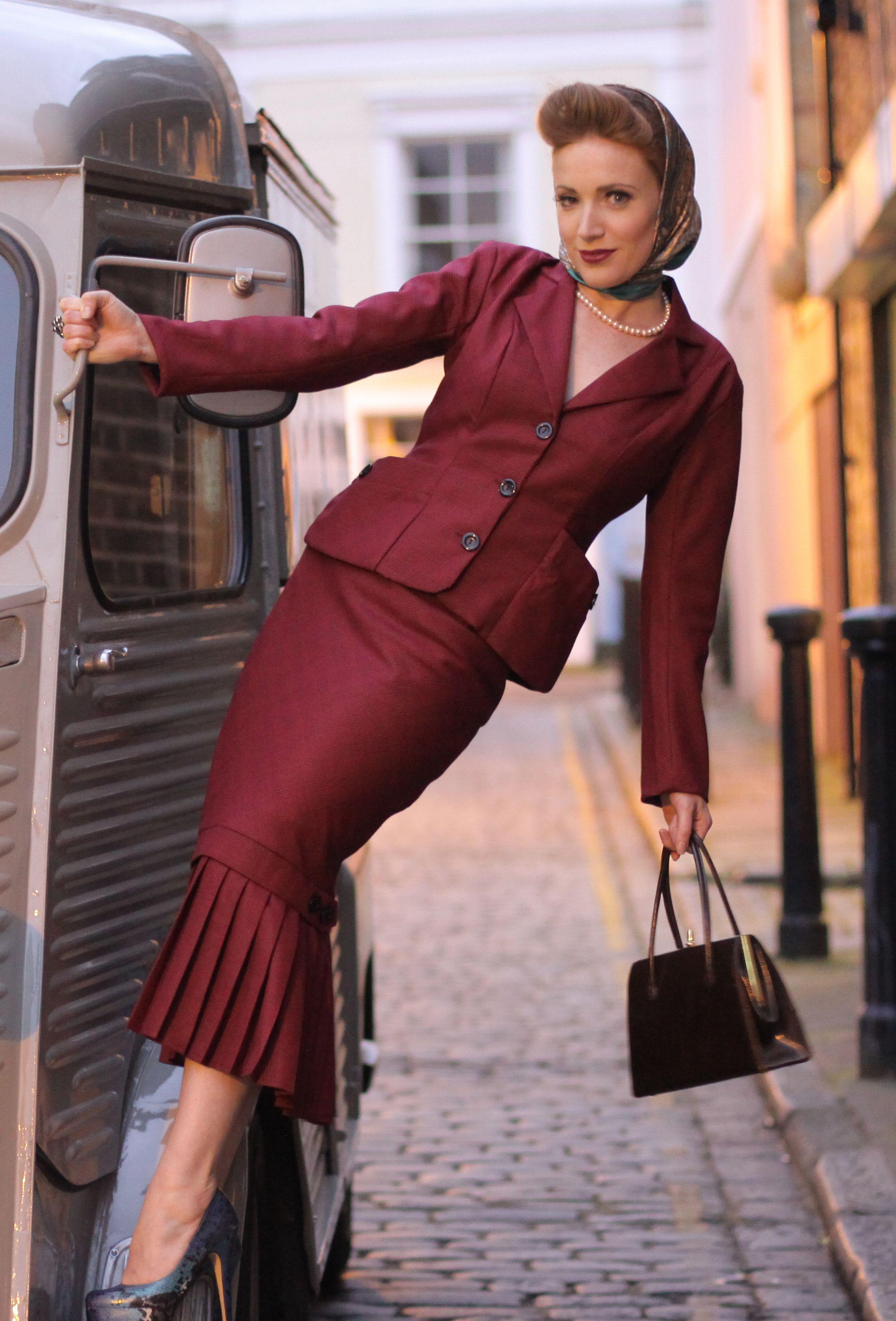 Tara Starlet 1940s 40s Style: Nice Dresses, Fashion