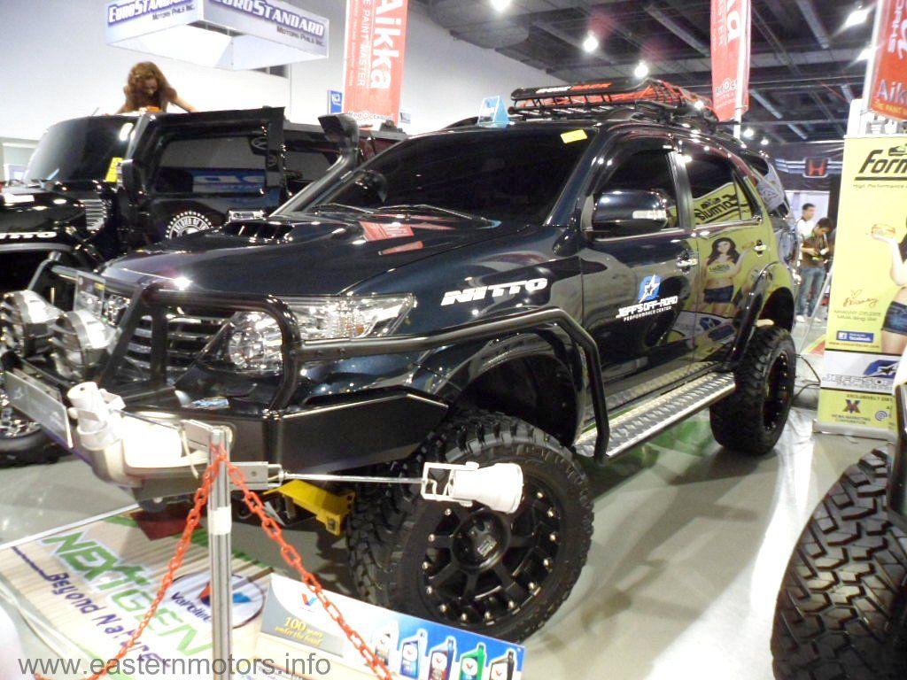 2012 Toyota Fortuner Off Road Setup; Please Visit- Www