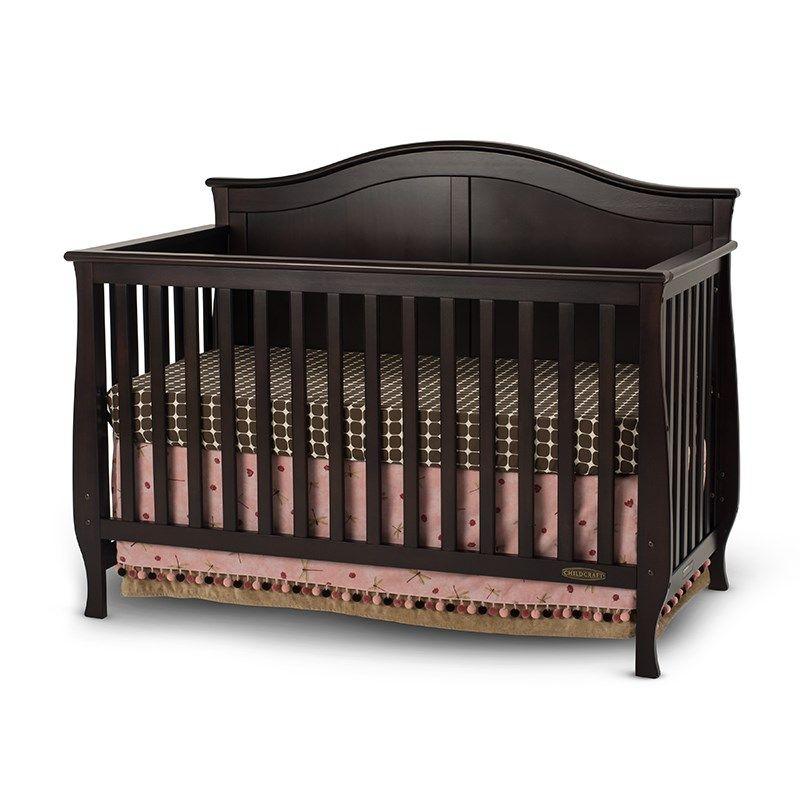 Camden 3-in-1 Convertible Crib - Jamocha   Baby cribs ...