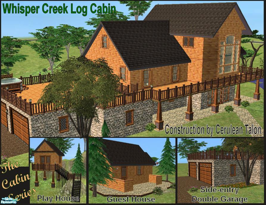 Cerulean Talon s Whisper Creek Log Cabin