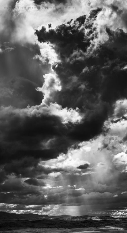Summer cloudscapes - storms and rays - Brindabellas Feb 2015