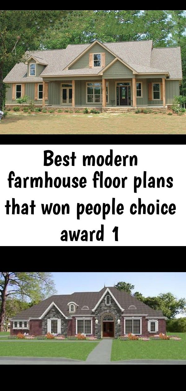 Best modern farmhouse floor plans that won people choice