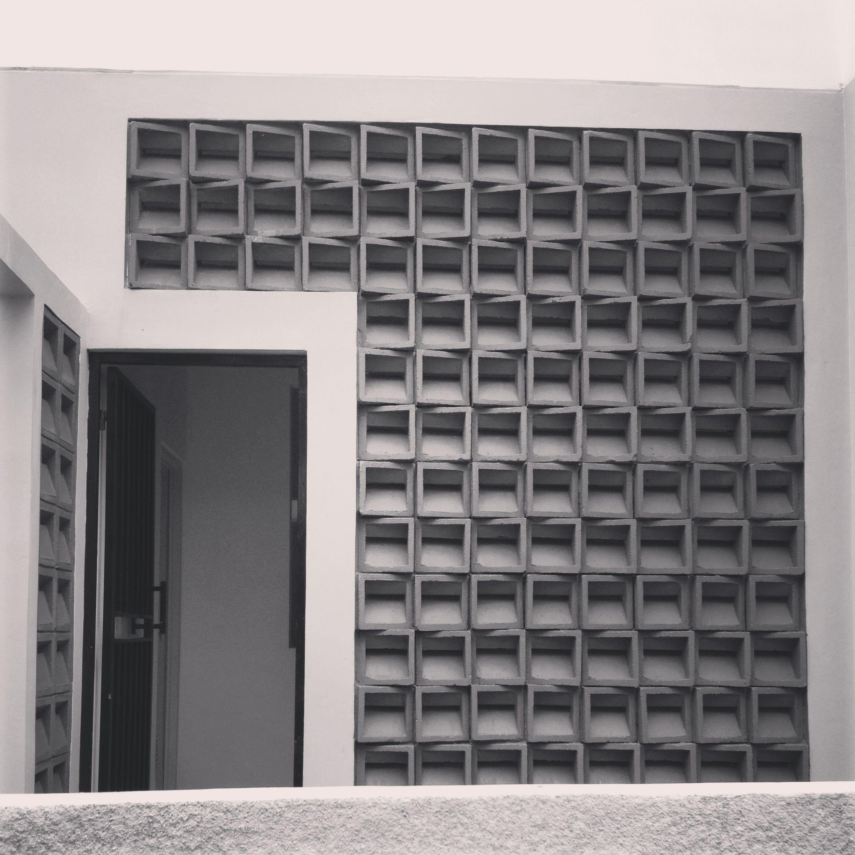 Perforated Brick Wall Desain Rumah Desain Rumah
