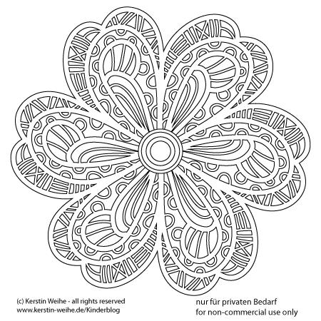 Malvorlage / Mandala | Mandalas to relax | Pinterest | Malvorlagen ...