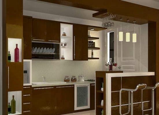 +7 Interior Dapur Minimalis Type 36 Terbaik Saat Ini