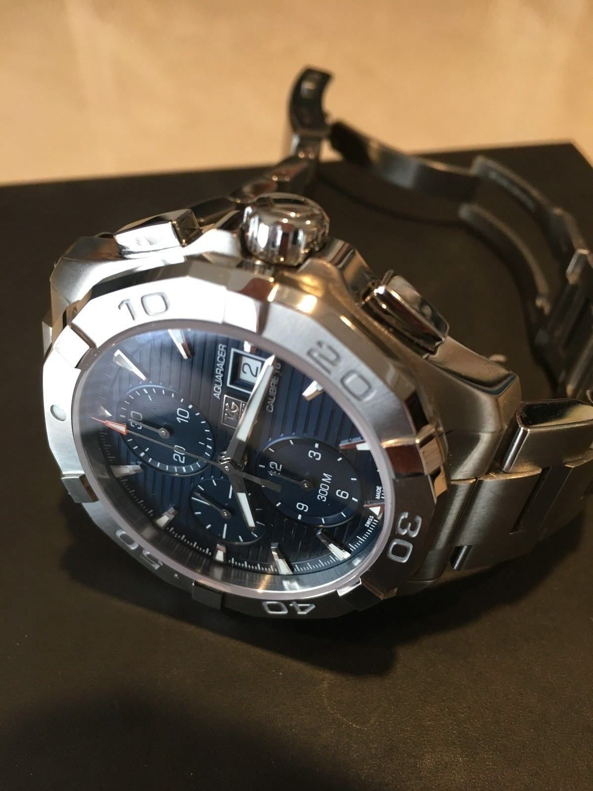 low priced 67b3a 4d5fb Tag Heuer Aquaracer Stainless Steel Mens Watch CAY2112 ...